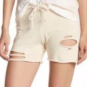 NEW! Wildfox Distressed Knit Shorts- Medium